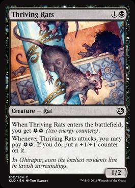 Thriving Rats - Foil