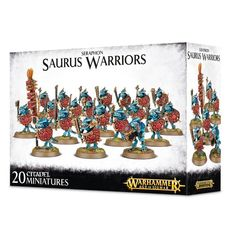Seraphon Saurus Warriors ( w88-06 )