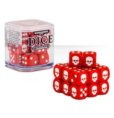 Dice Cube - Red