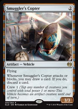 Smugglers Copter - Foil