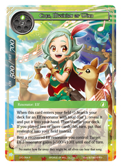 Crea, Musician of Wind - CFC-054 - R - Textured Foil on Channel Fireball