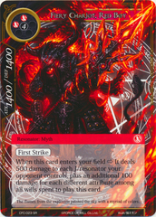 Fiery Chariot, Red Boy - CFC-023 - SR - Textured Foil