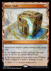 Mana Vault - Foil on Channel Fireball