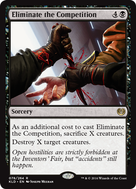 Eliminate the Competition - Foil