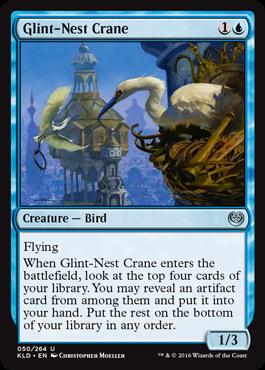 Glint-Nest Crane - Foil