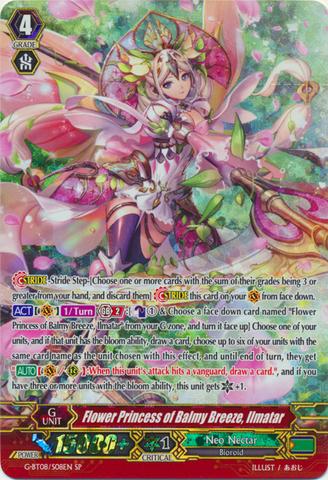 Flower Princess of Balmy Breeze, Ilmatar - G-BT08/S08EN - SP