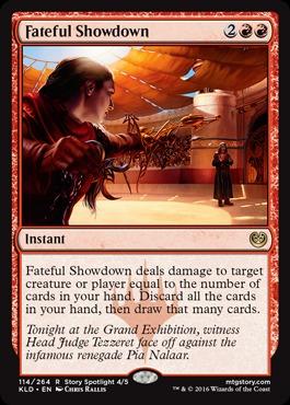 Fateful Showdown - Foil