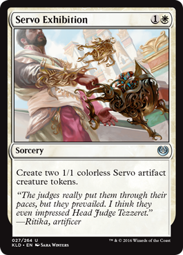 Servo Exhibition - Foil