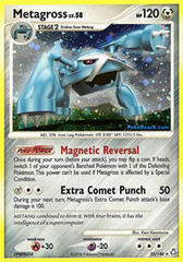 Metagross - 10/146 - Holo Rare on Channel Fireball