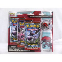 Collector Pin 3-Pack : Zoroark - XY Breakthrough