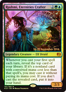 Rashmi, Eternities Crafter - Foil - Prerelease Promo