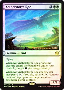 Aetherstorm Roc (Kaladesh Prerelease Foil)