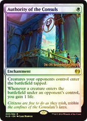 Authority of the Consuls (Kaladesh Prerelease Foil)