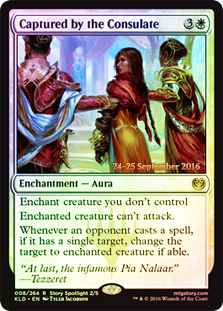Captured by the Consulate - Foil - Prerelease Promo