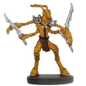 Thri Kreen Sword Dungeons And Dragons Miniatures Painted