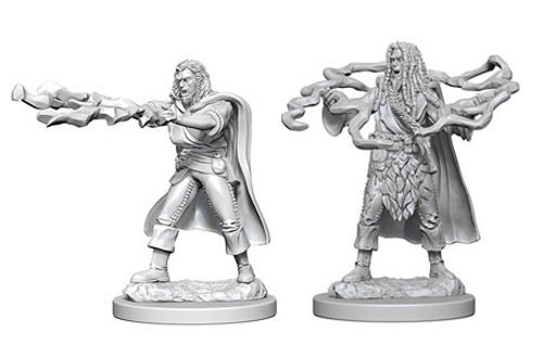 Nolzurs Marvelous Unpainted Miniatures - Human Sorcerer
