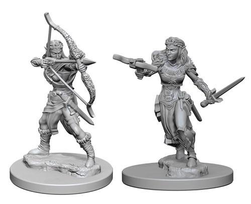 Nolzurs Marvelous Unpainted Miniatures Elf Ranger Female Role