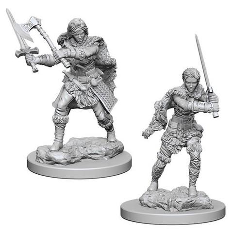 Nolzurs Marvelous Unpainted Miniatures - Human Barbarian (Female)