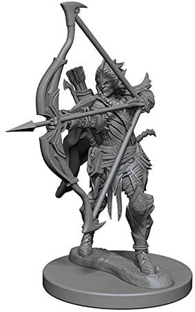 Pathfinder Deep Cuts Unpainted Miniatures: W6 Male Elf Fighter