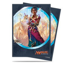 Ultra Pro - Kaladesh Saheeli Rai Standard Deck Protector sleeves for Magic 80ct