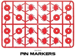 Bolt Action Pin Markers (12) ( WGA-PIN-01 )