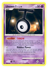Unown T - 67/123 - Uncommon