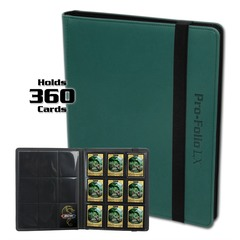 BCW Pro-Folio 9-Pocket LX - Teal