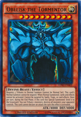 Obelisk the Tormentor - LDK2-ENS02 - Ultra Rare - Limited Edition on Channel Fireball