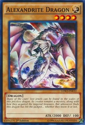 Alexandrite Dragon - LDK2-ENK12 - Common - 1st Edition