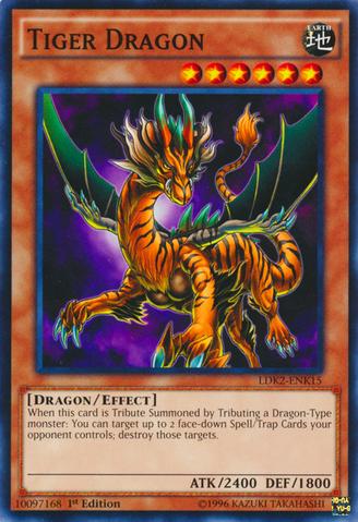 Tiger Dragon - LDK2-ENK15 - Common - 1st Edition
