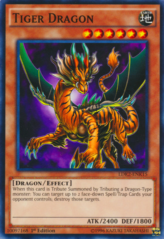 Tiger Dragon - LDK2-ENK15 - Common - 1st Edition