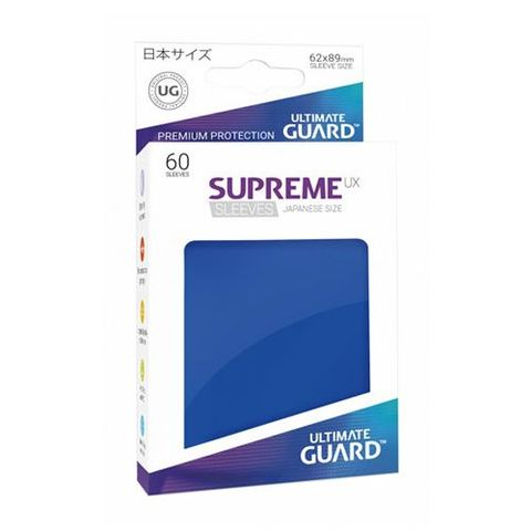 Ultimate Guard - Supreme UX Sleeves Small Size - Blue (60)