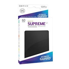 Ultimate Guard - Supreme UX Sleeves Small Size - Matte - Black (60)