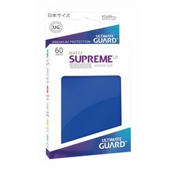 Ultimate Guard - Supreme UX Sleeves Small Size - Matte - Blue (60)