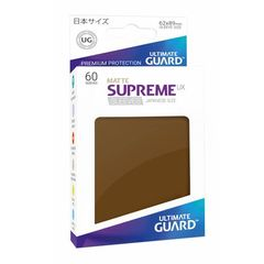 Matte - Brown - Supreme UX (Ultimate Guard) - Small Sleeves - 60ct