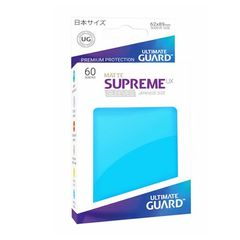 Matte - Light Blue - Supreme UX (Ultimate Guard) - Small Sleeves - 60ct