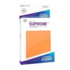 Matte - Orange - Supreme UX (Ultimate Guard) - Small Sleeves - 60ct