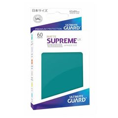 Matte - Petrol Blue - Supreme UX (Ultimate Guard) - Small Sleeves - 60ct