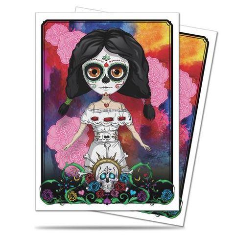 Ultra Pro - Ultra Pro Deck Protector: Dia De Los Muertos - Doll (50Ct) 84947