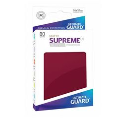 Ultimate Guard - Supreme UX Sleeves Standard Size - Burgundy (80)