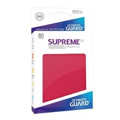 Ultimate Guard - Supreme UX Sleeves Standard Size - Red (80)