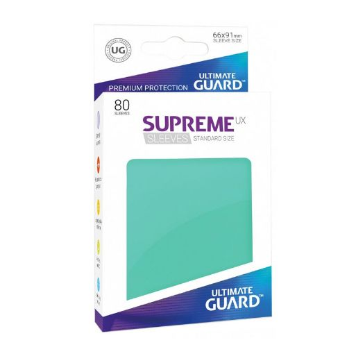 Ultimate Guard - Supreme UX Sleeves Standard Size - Turquoise (80)