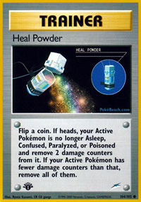 Heal Powder - 104/105 - Common - 1st Edition