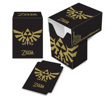 Ultra Pro - The Legend of Zelda: Black & Gold Full-View Deck Box