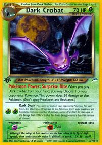 Dark Omanyte Uncommon Unlimited Pokemon Card Neo Destiny 37//105
