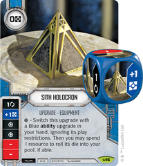 Sith Holocron (Sold with matching Die)