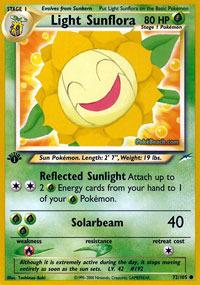 Light Sunflora - 72/105 - Common - 1st Edition