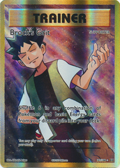 Brock's Grit - 107/108 - Full Art Ultra Rare on Channel Fireball
