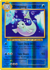 Dewgong - 29/108 - Rare - Reverse Holo on Channel Fireball