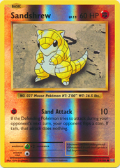 Sandshrew - 54/108 - Common - Reverse Holo